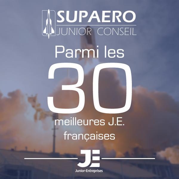 SUPAERO Junior Conseil, parmi les meilleures J.E. 2020